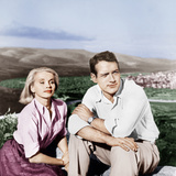 EXODUS, from left: Eva Marie Saint, Paul Newman, 1960 Posters