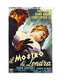 THE TWO FACES OF DR. JEKYLL (aka IL MOSTRO DI LONDRA Print
