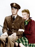 THE MAJOR AND THE MINOR, from left: Ray Milland, Ginger Rogers, 1942 Photo