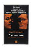 PERSONA, Argentinan poster, Bibi Andersson, Liv Ullmann, 1966 Posters