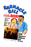 BARNACLE BILL, US poster, from left: Wallace Beery, Marjorie Main, 1941 Posters