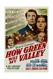 HOW GREEN WAS MY VALLEY Plakater