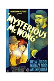 THE MYSTERIOUS MR. WONG, Wallace Ford, Arline Judge, Bela Lugosi, 1935 Posters