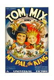 MY PAL, THE KING, from left: Tom Mix, Mickey Rooney, 1932. Prints