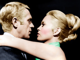 THE THOMAS CROWN AFFAIR, from left: Steve McQueen, Faye Dunaway, 1968 Posters
