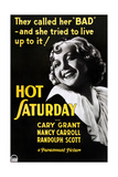 HOT SATURDAY, Nancy Carroll on US poster art, 1932 Posters