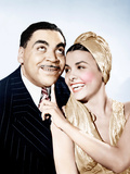 STORMY WEATHER, from left, Fats Waller, Lena Horne, 1943. Foto