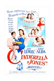 CINDERELLA JONES, US poster, middle from left: Robert Alda, Joan Leslie, Prints