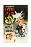 THE LITTLE FOXES, (poster art), Bette Davis, 1941 Posters