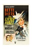 THE LITTLE FOXES, (poster art), Bette Davis, 1941 Posters