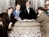 THE COCOANUTS, from left: Chico Marx, Zeppo Marx, Groucho Marx, Harpo Marx, 1929 Photo
