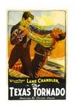 TEXAS TORNADO, left: Lane Chandler, 1932. Posters