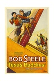 TEXAS BUDDIES, Bob Steele, 1932 Poster