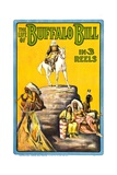 THE LIFE OF BUFFALO BILL, early documentary of the legendary Westerner, 1912 Art