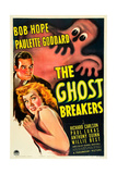 THE GHOST BREAKERS, Bob Hope, Paulette Goddard, 1940 Poster