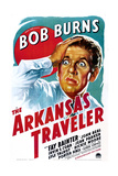 THE ARKANSAS TRAVELER, US poster art, Bob Burns, 1938 Poster