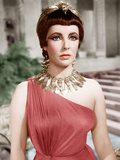 CLEOPATRA, Elizabeth Taylor, 1963. Photo