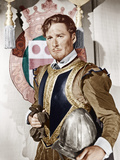 THE PRIVATE LIVES OF ELIZABETH AND ESSEX, Errol Flynn as the Earl of Essex, 1939 Photo