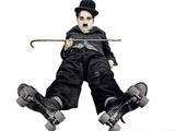 The Rink, Charlie Chaplin, 1916 Photo