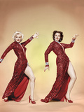 GENTLEMEN PREFER BLONDES, from left: Marilyn Monroe, Jane Russell,1953. Fotografía