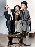 A NIGHT AT THE OPERA, from left: Groucho Marx, Chico Marx, Harpo Marx, (aka the Marx Brothers, 1935 Posters