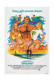 LIFEGUARD, center: Sam Elliott, 1976. Print