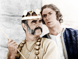THE MAN WHO WOULD BE KING, from left: Sean Connery, Michael Caine, 1975 Photo