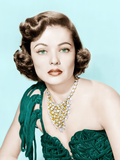 Gene Tierney, late 1940s- early 1950s Print