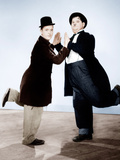 WAY OUT WEST, from left: Stan Laurel, Oliver Hardy, 1937 Prints