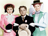 THE STRAWBERRY BLONDE, from left: Olivia De Havilland, James Cagney, Rita Hayworth, 1941 Photo
