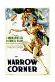 THE NARROW CORNER, from left: Douglas Fairbanks Jr., Patricia Ellis on midget window card, 1933. Prints