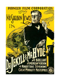 DR.JEKYLL & MR. HYDE, Sheldon Lewis, 1920 Reprodukcje