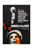 DEMONS OF THE MIND, British poster, Yvonne Mitchell (front), 1972 Print