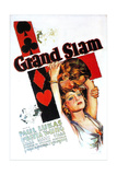 GRAND SLAM, US poster art, from top: Paul Lukas, Loretta Young, 1933 Art