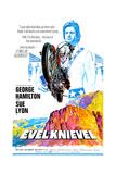 EVEL KNIEVEL, George Hamilton, 1971 Print