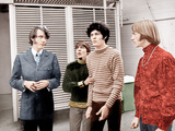 HEAD, from left: Michael Nesmith, Davy Jones, Micky Dolenz, Peter Tork, (aka The Monkees), 1968 Photo