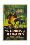 DRUMS OF JEOPARDY [aka MARK OF TERROR], Warner Oland, Lloyd Hughes, June Collyer, 1931 Art