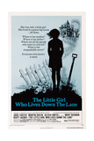 THE LITTLE GIRL WHO LIVES DOWN THE LANE, US poster, 1976 Art