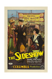 THE SIDESHOW, from left: Alan Roscoe, Ralph Graves, Marie Prevost, 1928. Prints
