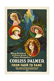 FROM FARM TO FAME, Mary Pickford, Lillian Gish, Hope Hampton, Corliss Palmer, 1918 Poster
