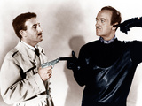 THE PINK PANTHER, from left: Peter Sellers, David Niven, 1963 Photo