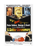 DR. STRANGELOVE (aka DR. STRANGELOVE OR: HOW I LEARNED TO STOP WORRYING AND LOVE THE BOMB) Art