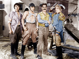 DUCK SOUP, from left: Chico Marx, Zeppo Marx, Groucho Marx, Harpo Marx, 1933 Posters