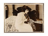 THE SOCIAL SECRETARY, Norma Talmadge on lobbycard, 1916. Prints