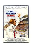 LE MANS, Steve McQueen, 1971 Affiches