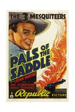 PALS OF THE SADDLE, John Wayne, 1938. Posters