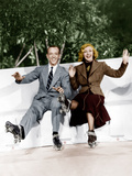 SHALL WE DANCE, from left: Fred Astaire, Ginger Rogers, 1937 Posters
