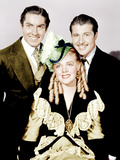 IN OLD CHICAGO, from left: Tyrone Power, Alice Faye, Don Ameche, 1937. Photo