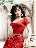 THE HUNCHBACK OF NOTRE DAME, Gina Lollobrigida, 1956 Photo