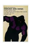 KING KONG ESCAPES, (aka UCIECZKA KING KONGA), Polish poster, King Kong, 1967 Plakater